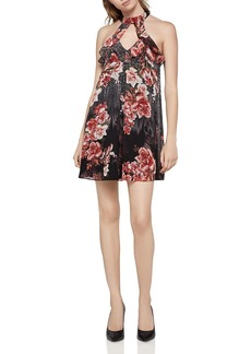 BCBGeneration Floral Choker Dress