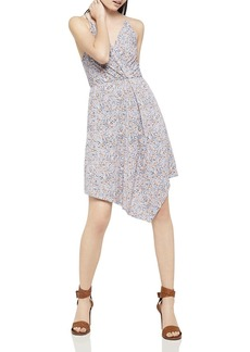 BCBGeneration Floral Print Asymmetric Dress