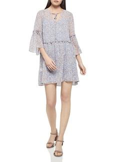 BCBGeneration Floral Print Drop-Waist Dress