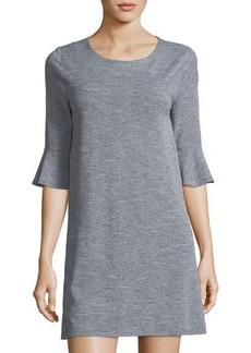 BCBGeneration Flounce-Sleeve Dress