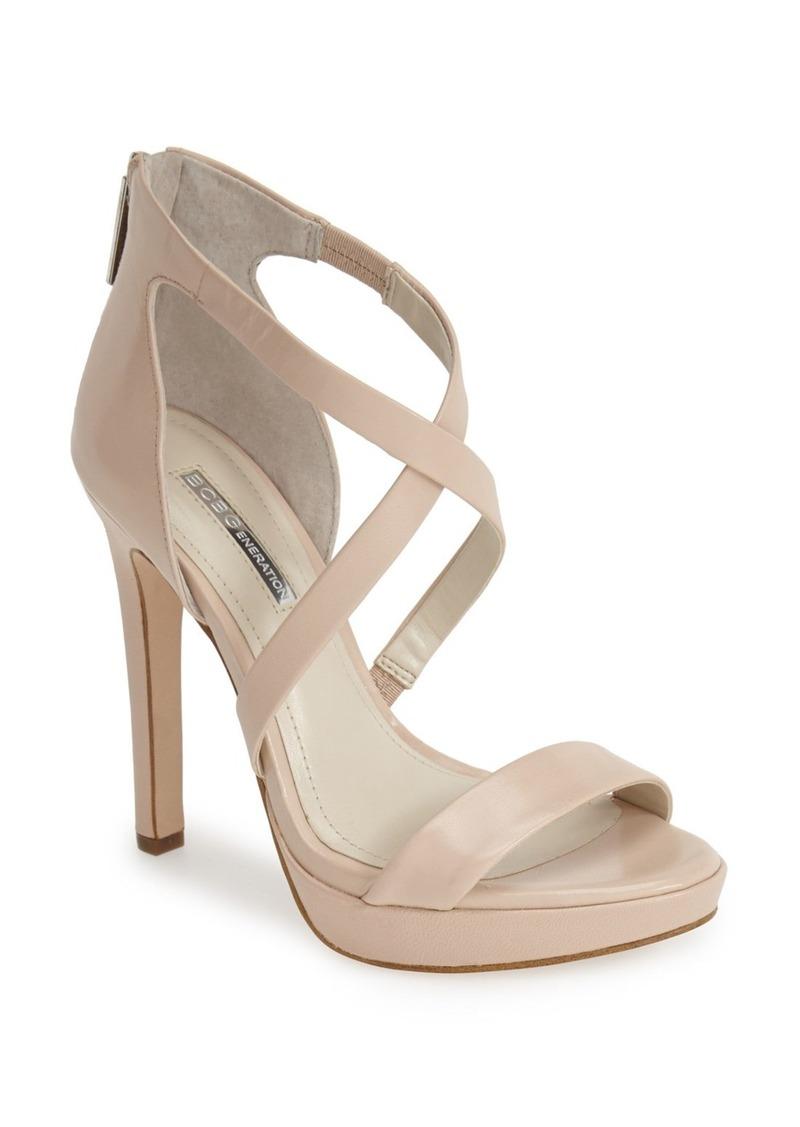 e2cf379cf29 BCBG BCBGeneration  Gidget  Leather Platform Sandal (Women)