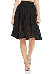 BCBGeneration Grid Lace Skirt