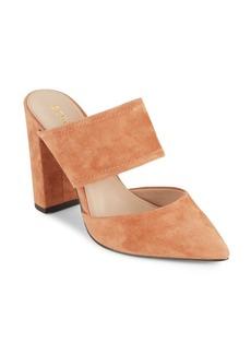 BCBGeneration Houston Leather Almond-Toe Shoes