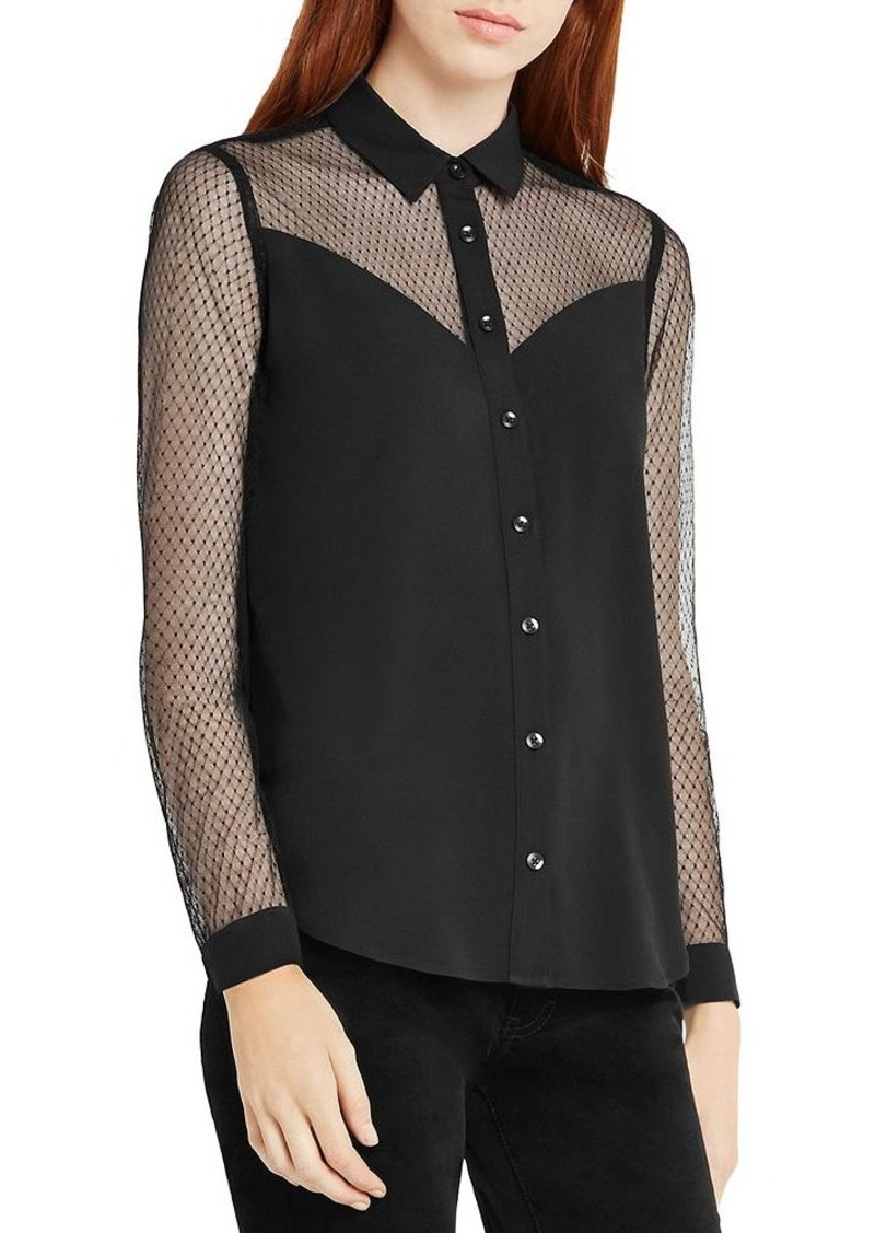BCBGeneration Illusion Detail Shirt
