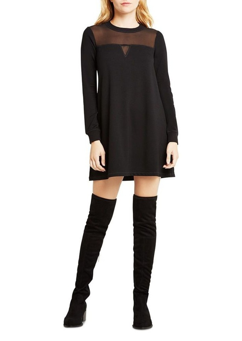 BCBGeneration Illusion Inset Sweatshirt Dress
