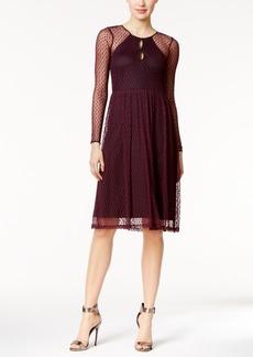 BCBGeneration Illusion Keyhole A-Line Dress