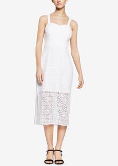 BCBGeneration Illusion Lace Midi Dress