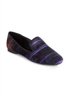 Justine Striped Loafers