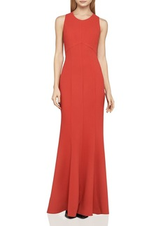 BCBGeneration Lace-Back Gown