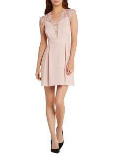 BCBGeneration Lace Detail Dress