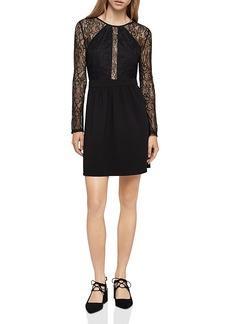 BCBGeneration Lace-Detail Dress