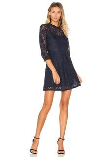 BCBGeneration Lace Fit & Flare Dress