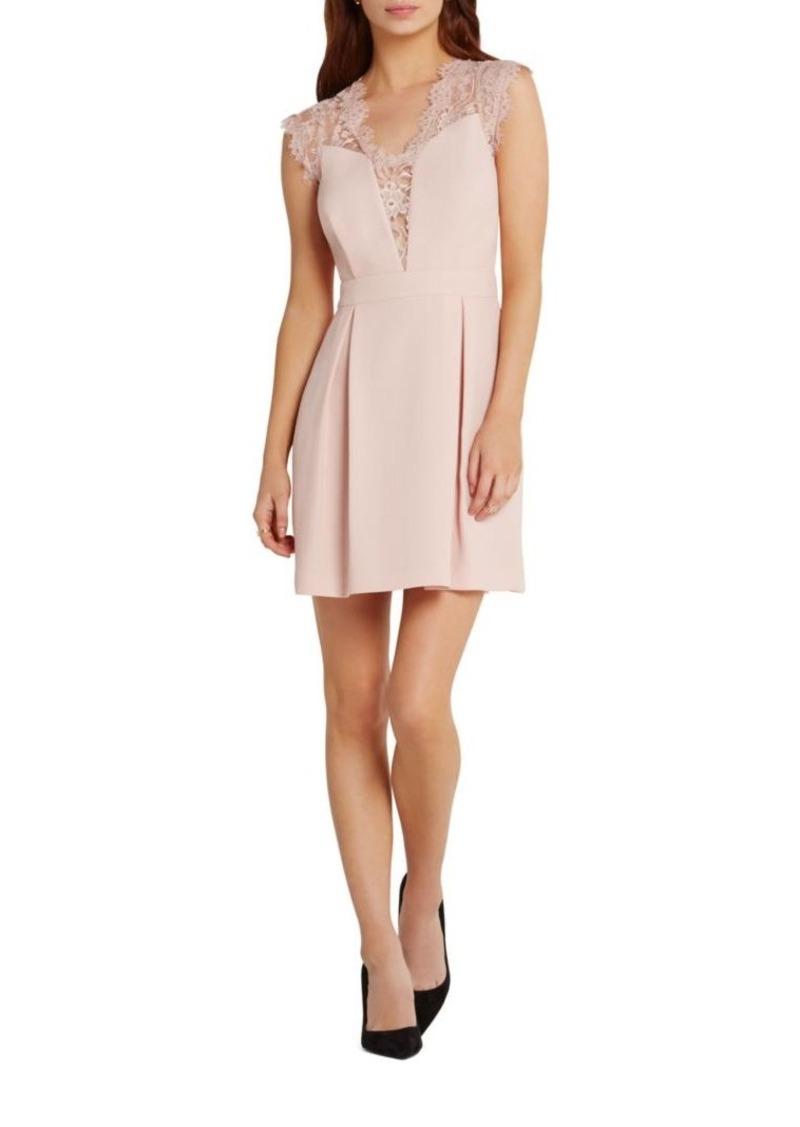 Bcbgeneration Lace Inset A Line Dress