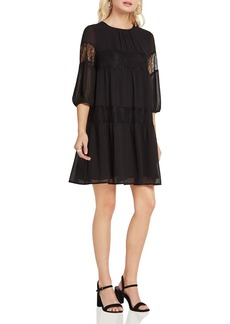 BCBGeneration Lace-Inset Dress
