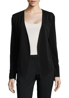 BCBG Lace-Up Tuxedo Jacket