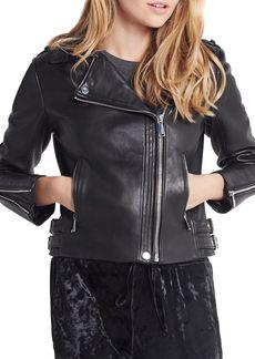 BCBGeneration Leather Moto Jacket