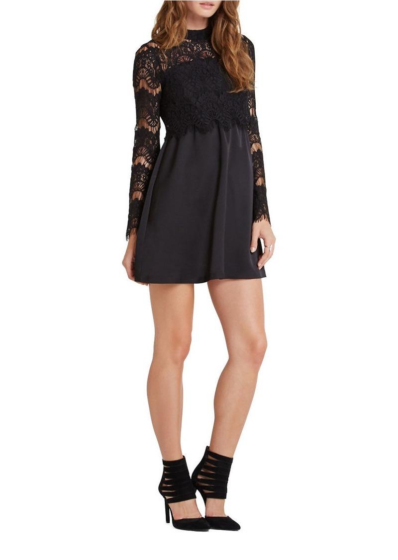 BCBGENERATION Long Sleeve A-Line Dress