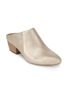 Lori Metallic Slip-On Mules