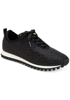 BCBGeneration Lynn Woven Lace-Up Sneakers Women's Shoes