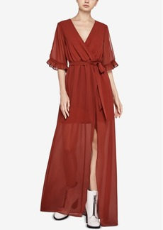 BCBGeneration Maxi Wrap Dress