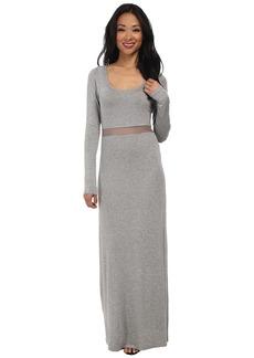 BCBGeneration Mesh Insert Dress