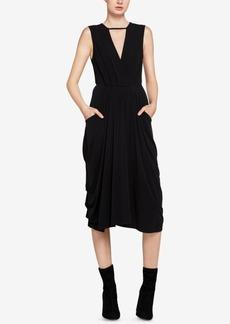BCBGeneration Midi Faux-Wrap Dress