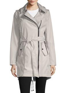 Missy Asymmetrical Belted Jacket