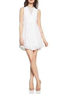 BCBGeneration Mixed Lace Dress