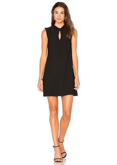 BCBGeneration Mock Neck Dress in Black. - size M (also in S,XS)