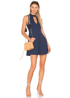 BCBGeneration Mock Neck Dress in Navy. - size 0 (also in 2,6,8)