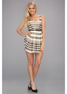 BCBGeneration Multi Pleat Mini Dress