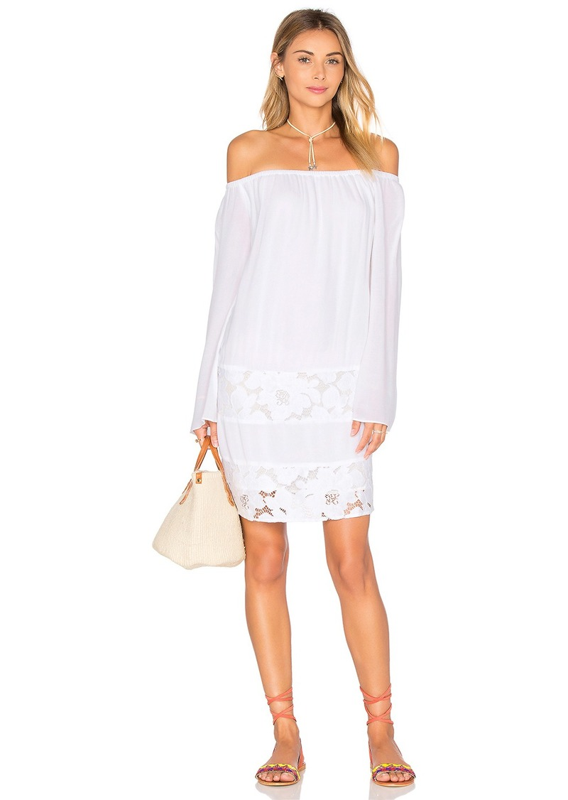 BCBGeneration Off the Shoulder Dress