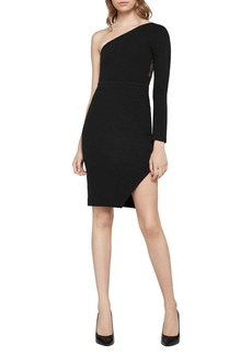 BCBGeneration One-Shoulder Bodycon Dress