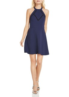 BCBGeneration Open-Back Fit-and-Flare Dress
