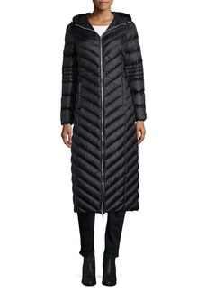 BCBGeneration Packable Long Puffer Coat