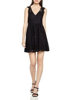 BCBGeneration Paisley Floral Lace Dress