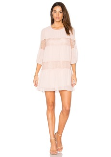 BCBGeneration Peasant Lace Dress