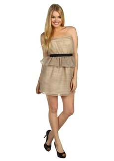 BCBGeneration Peplum Tube Dress