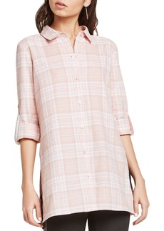 BCBGeneration Plaid Tunic Shirt