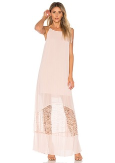 BCBGeneration Pleated Dress in Pink. - size M (also in L,S,XS)