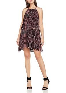 BCBGeneration Printed Chiffon A-Line Dress