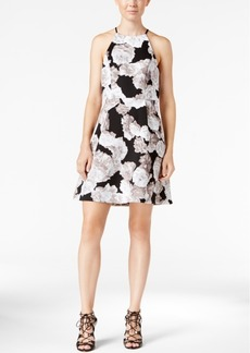 BCBGeneration Printed Fit & Flare Dress