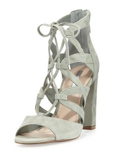 BCBGeneration Rameena Suede Lace-Up Sandal