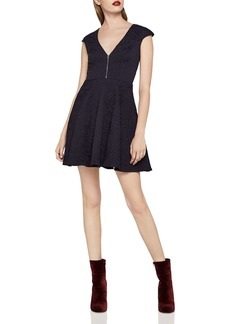BCBGeneration Rose Jacquard Dress