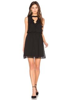 BCBGeneration Ruffle Front Dress