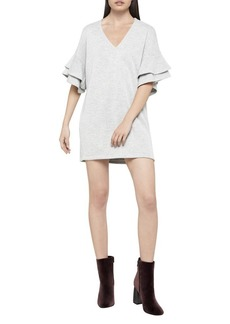 BCBGeneration Ruffle-Sleeve Tunic Dress