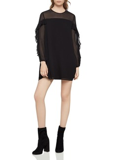 BCBGeneration Ruffle-Trimmed Dress