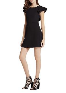 BCBGeneration Ruffle V-Back Dress