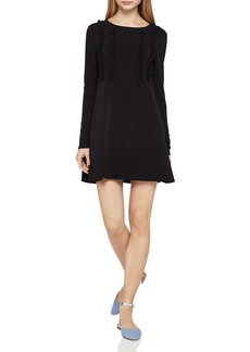 BCBGeneration Ruffled A-Line Dress