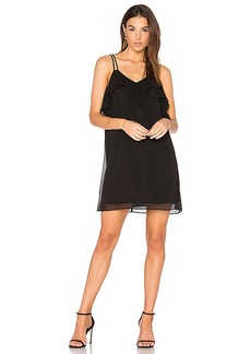 BCBGeneration Ruffled Mini Dress in Black. - size S (also in XS)